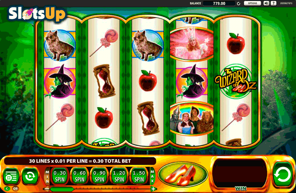 ruby slippers slot play