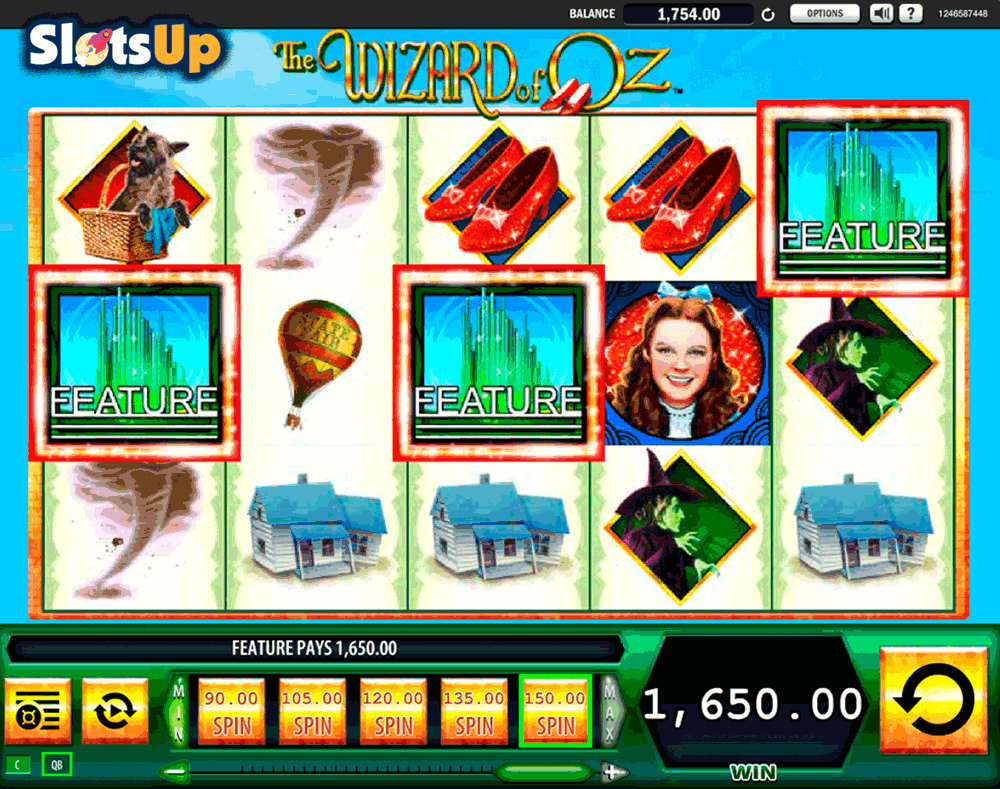 online wizard of oz slot