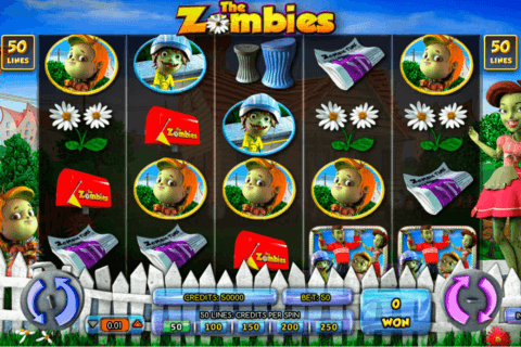 THE ZOMBIES AMAYA CASINO SLOTS
