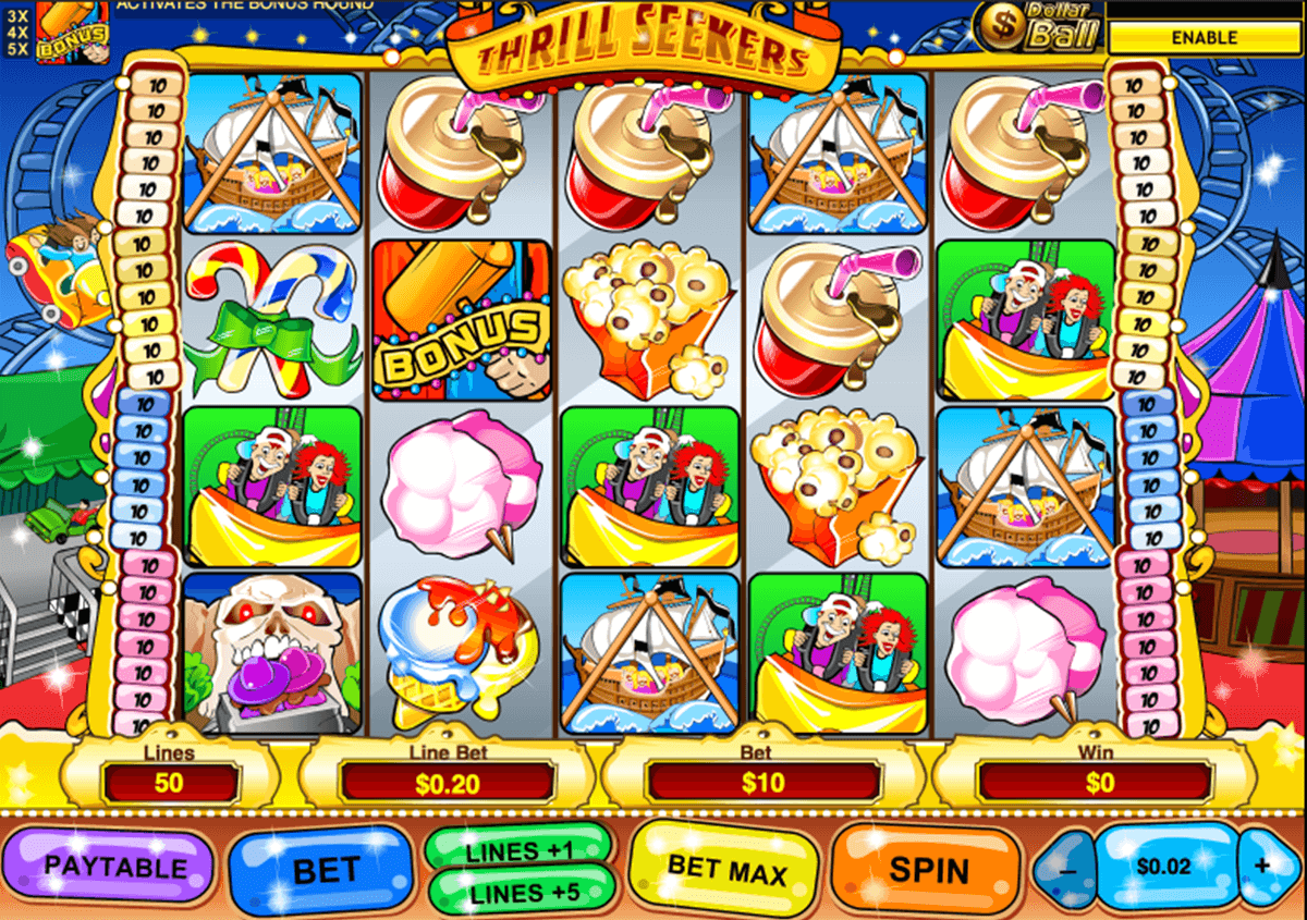 Play Thrill Seekers Slots Online at Casino.com NZ