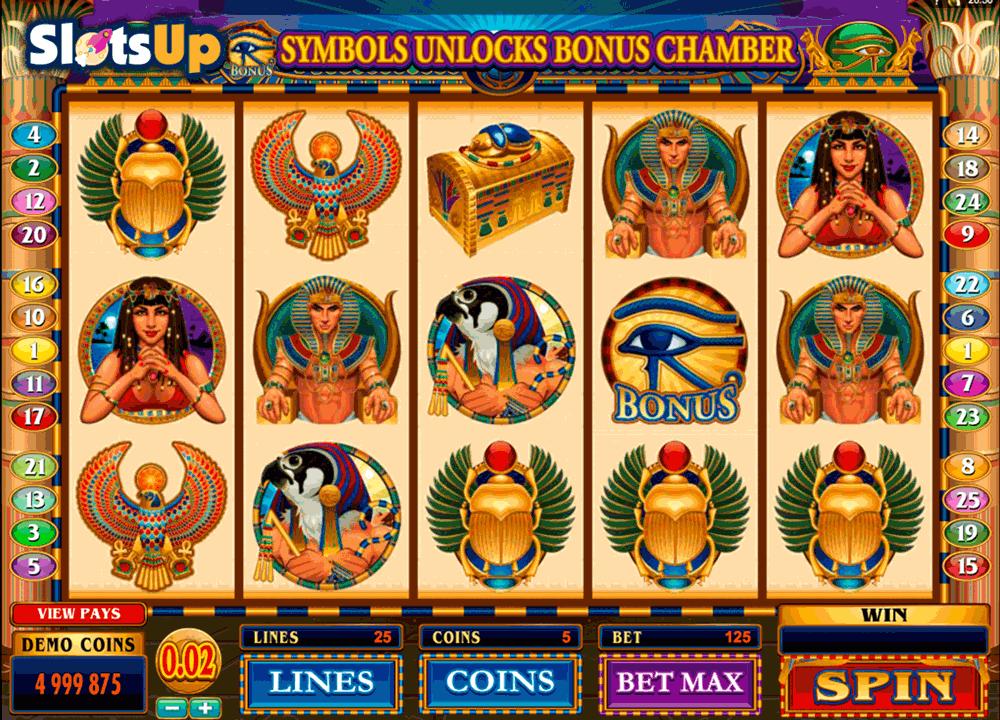 THRONE OF EGYPT MICROGAMING CASINO SLOTS