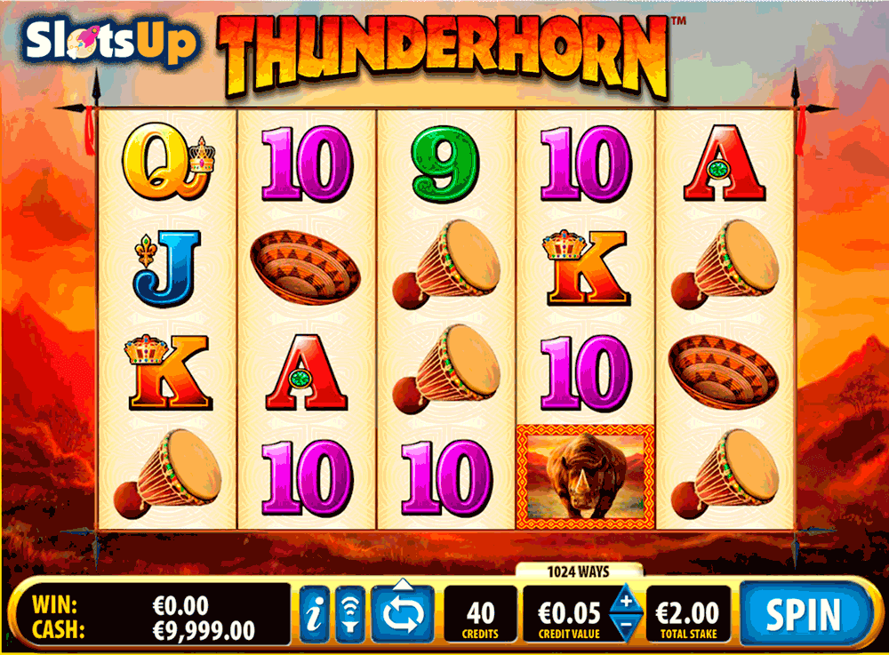 THUNDERHORN BALLY CASINO SLOTS