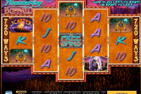 thundering buffalo high5 casino slots 480x320