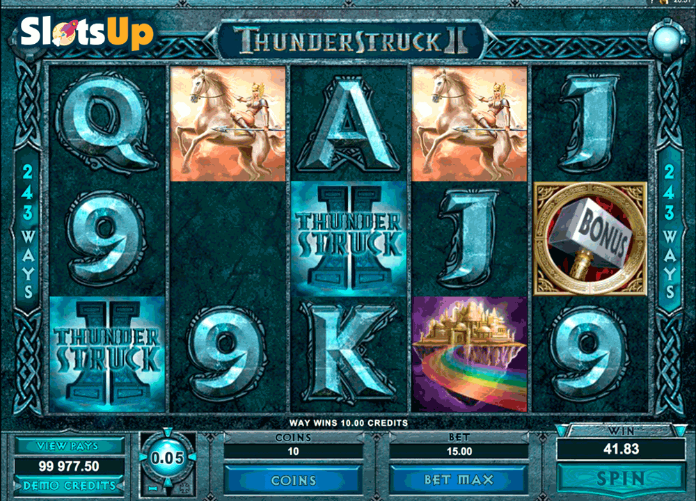 Thunderstruck II Slot Machine Online ᐈ Microgaming™ Casino Slots