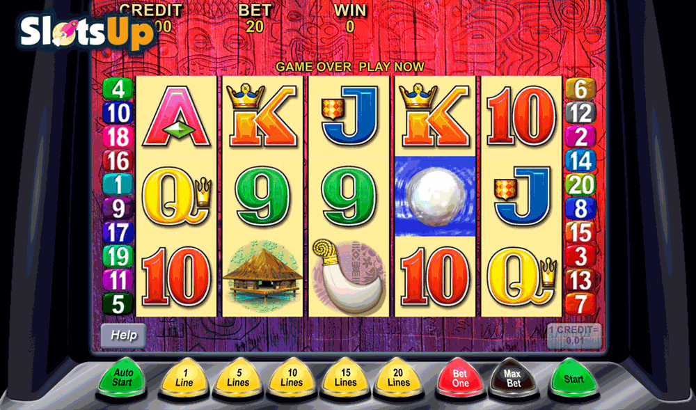 TIKI TORCH ARISTOCRAT CASINO SLOTS