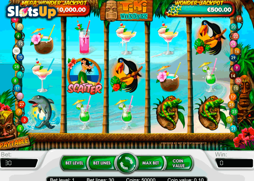 Beach Slot Machine - Play Free NetEnt Slot Games Online