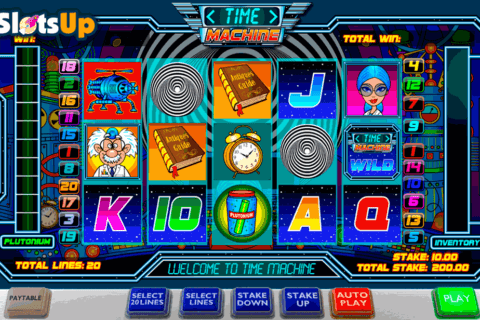 TIME MACHINE ASH GAMING CASINO SLOTS
