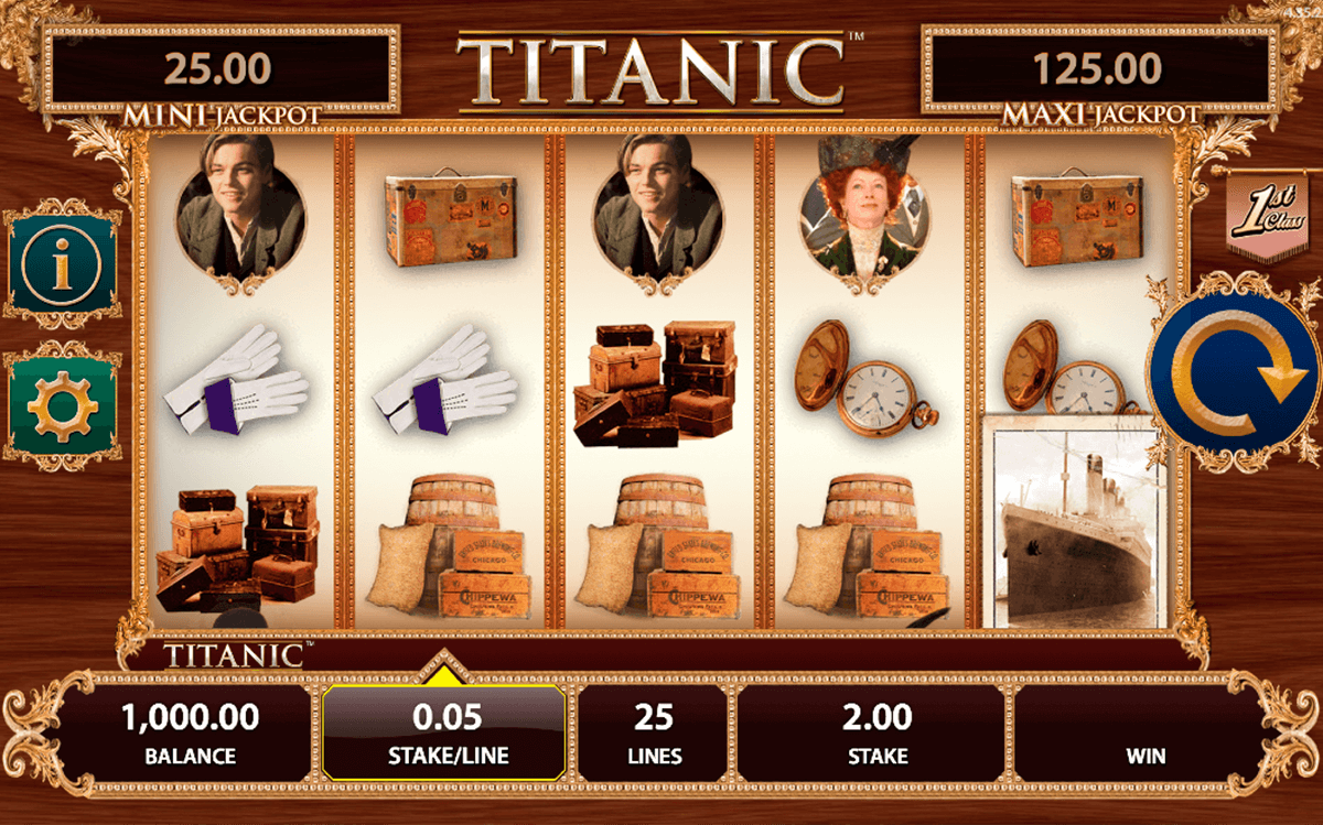 titanic bally casino slots