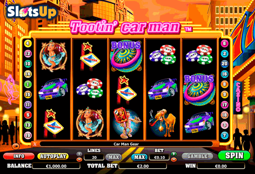 TOOTIN CAR MAN NEXTGEN GAMING CASINO SLOTS