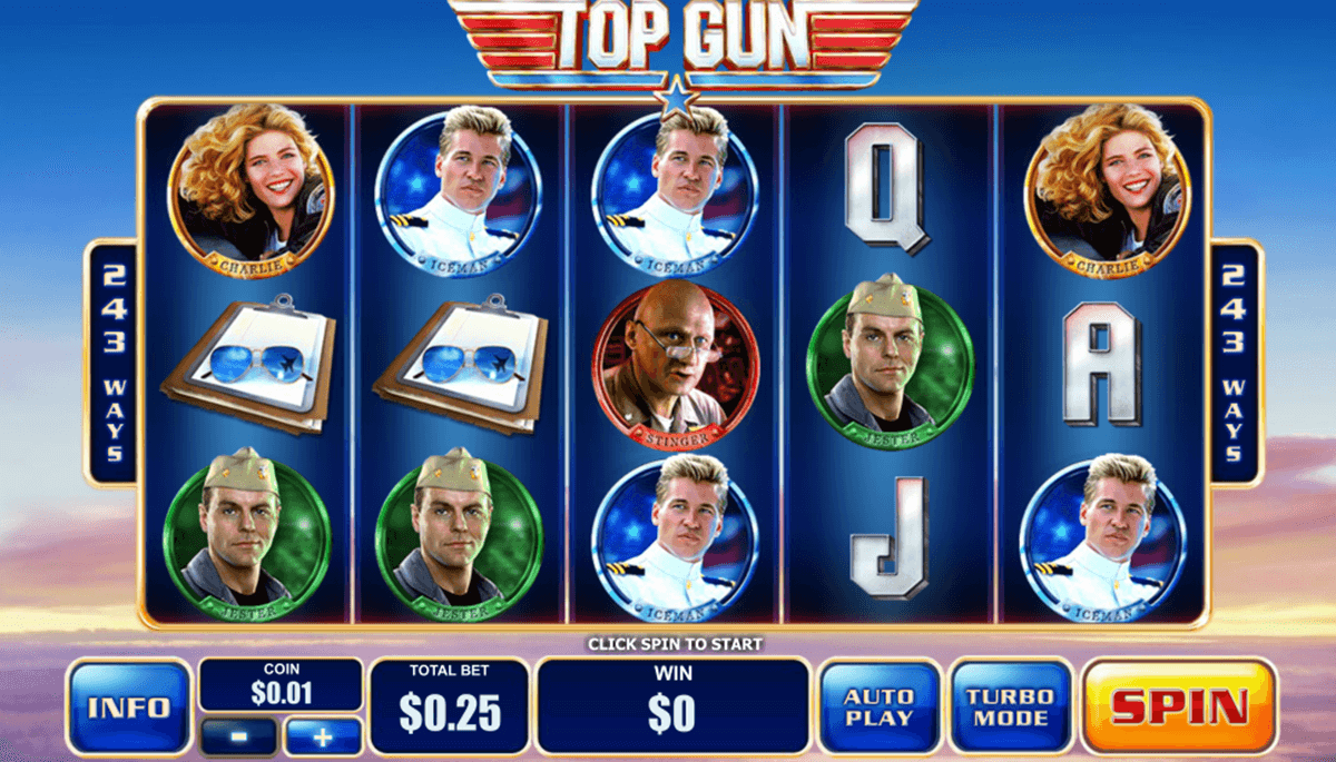 Top gun slots online magasin casino fresnes