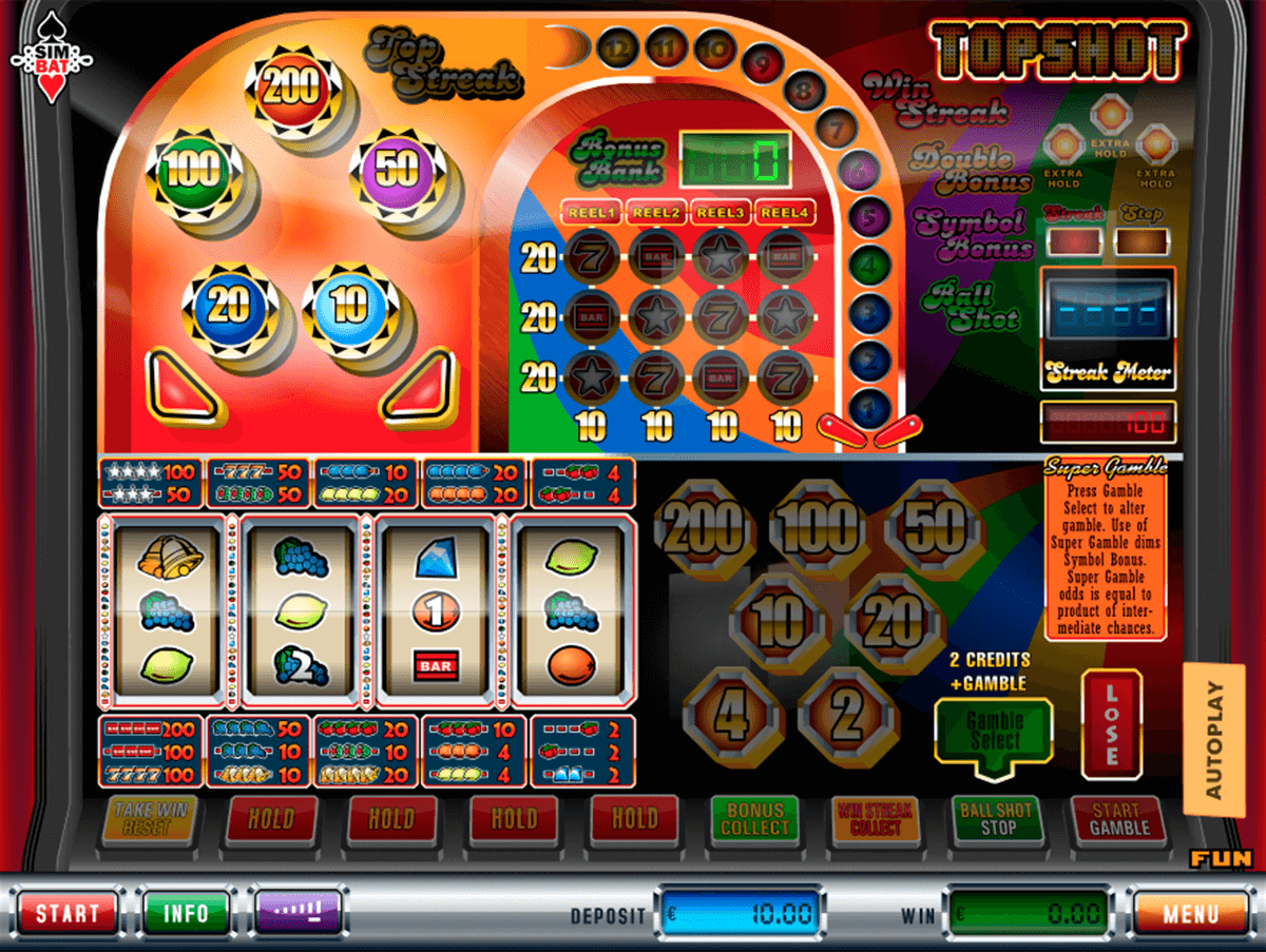 Topshot™ Slot Machine Game to Play Free in Simbats Online Casinos