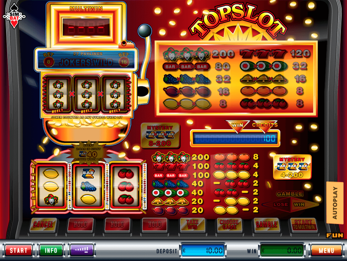 Topslot Slots - Review & Play this Online Casino Game