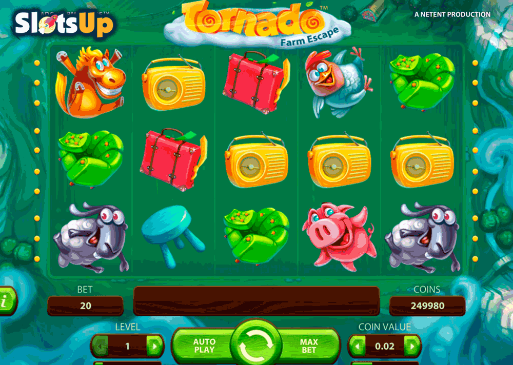 Tornado: Farm Escape NetEnt Online Slot for Real Money-Rizk