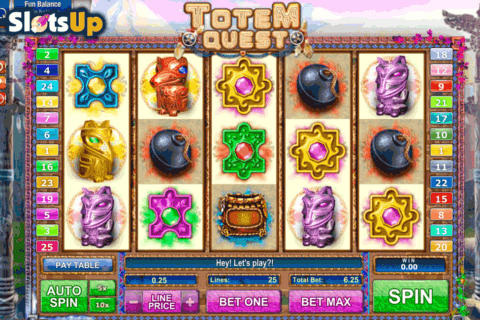 TOTEM QUEST GAMESOS CASINO SLOTS
