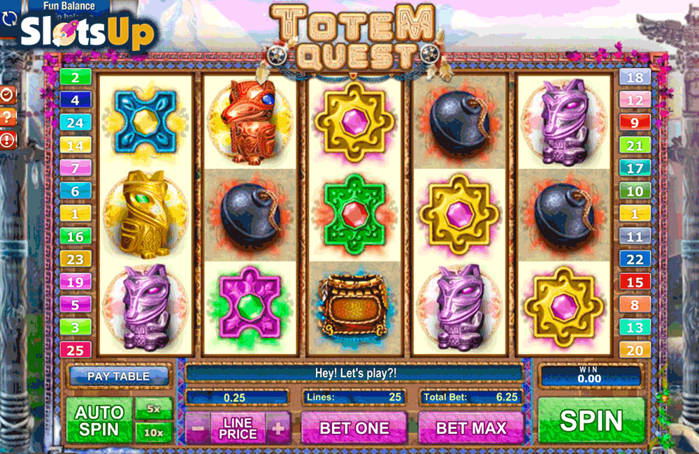 Totem Quest™ Slot Machine Game to Play Free in GamesOS iGamings Online Casinos