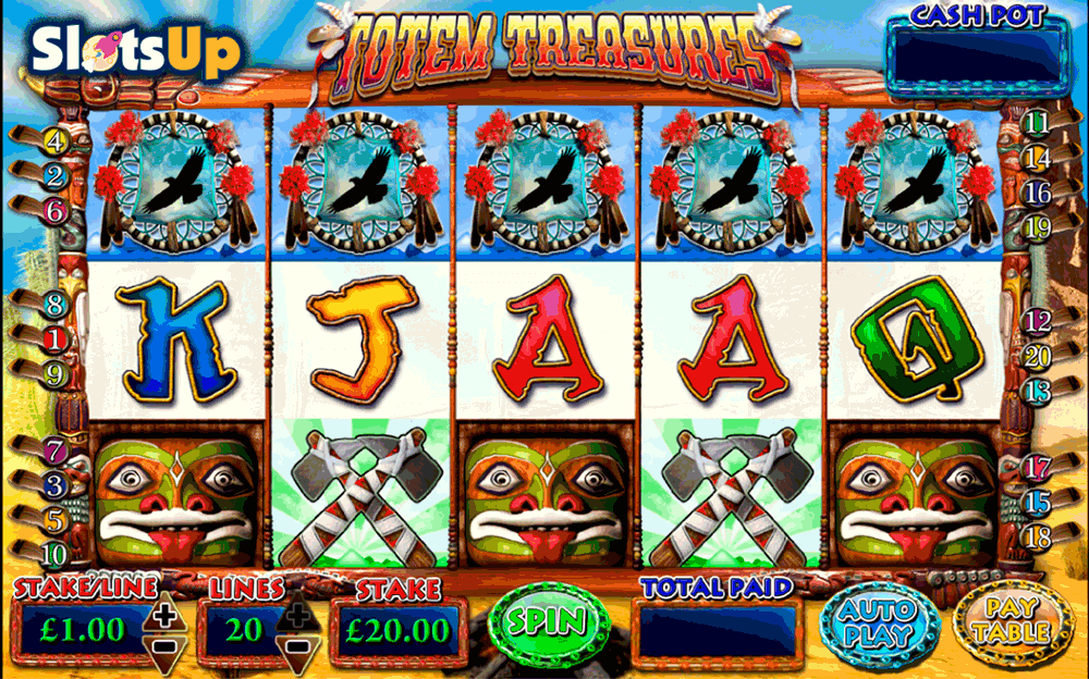 Totem Treasure Slot Machine Online ᐈ Microgaming™ Casino Slots