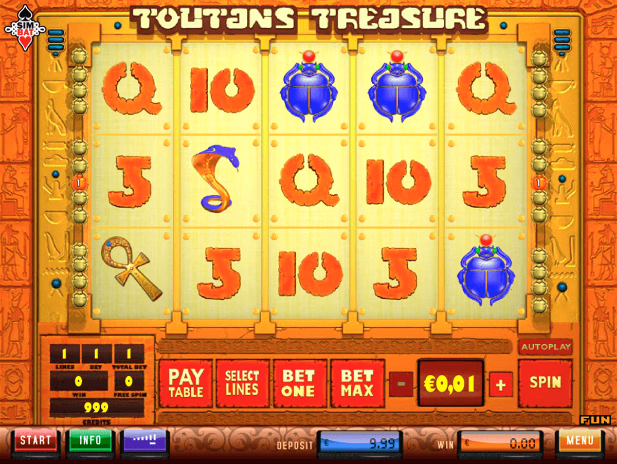 Toutans Treasures™ Slot Machine Game to Play Free in Simbats Online Casinos