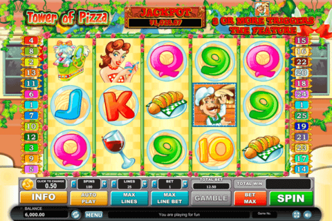 TOWER OF PIZZA HABANERO SLOT MACHINE
