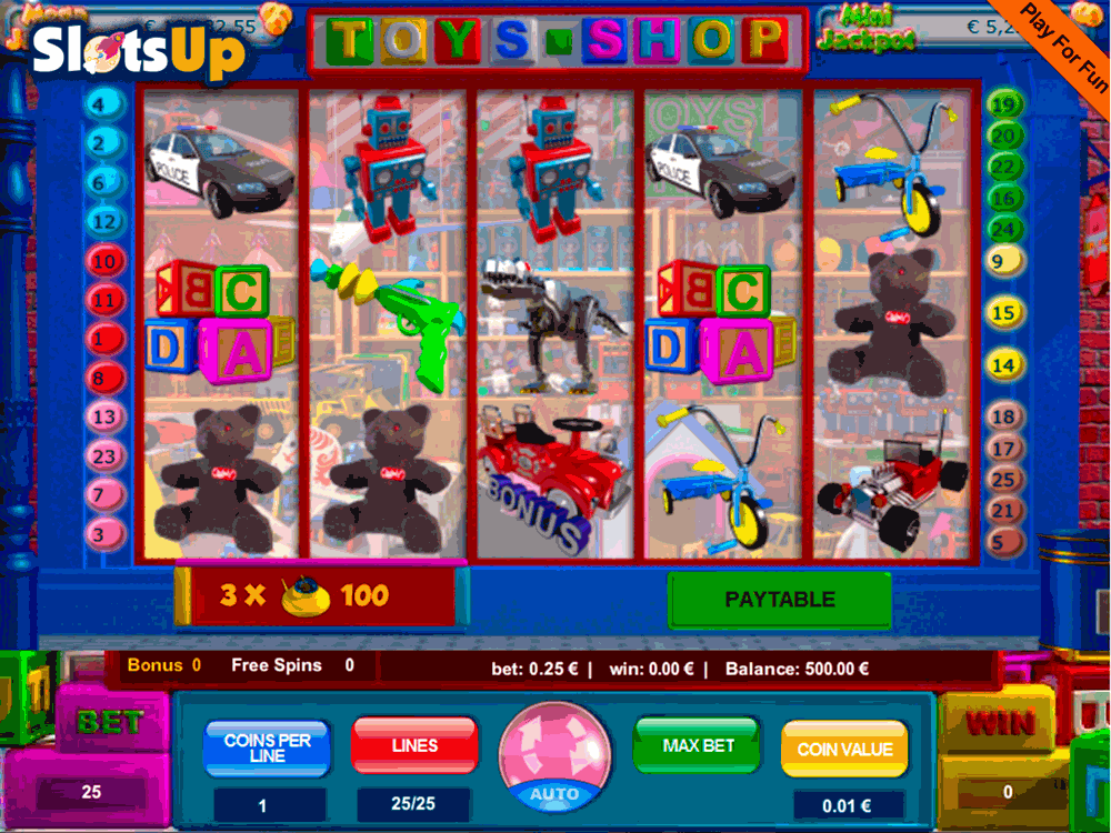Toys Memories Slot Machine - Play the Online Slot for Free