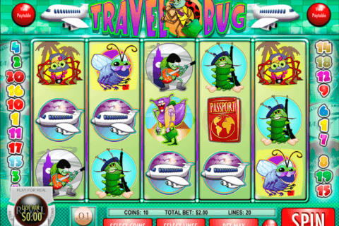 TRAVEL BUG RIVAL CASINO SLOTS