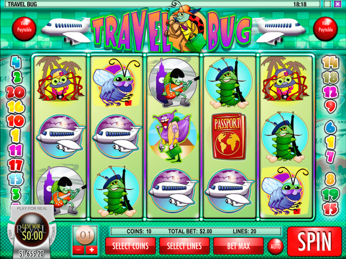 Travel Bug Slot - Play the Rival Gaming Casino Game for Free