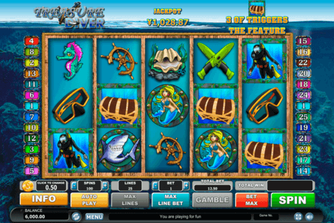 treasure diver habanero slot machine 480x320