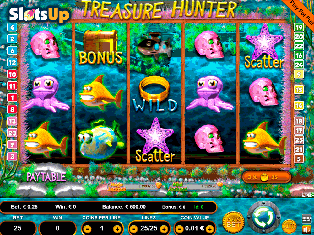 TREASURE HUNTER PORTOMASO CASINO SLOTS