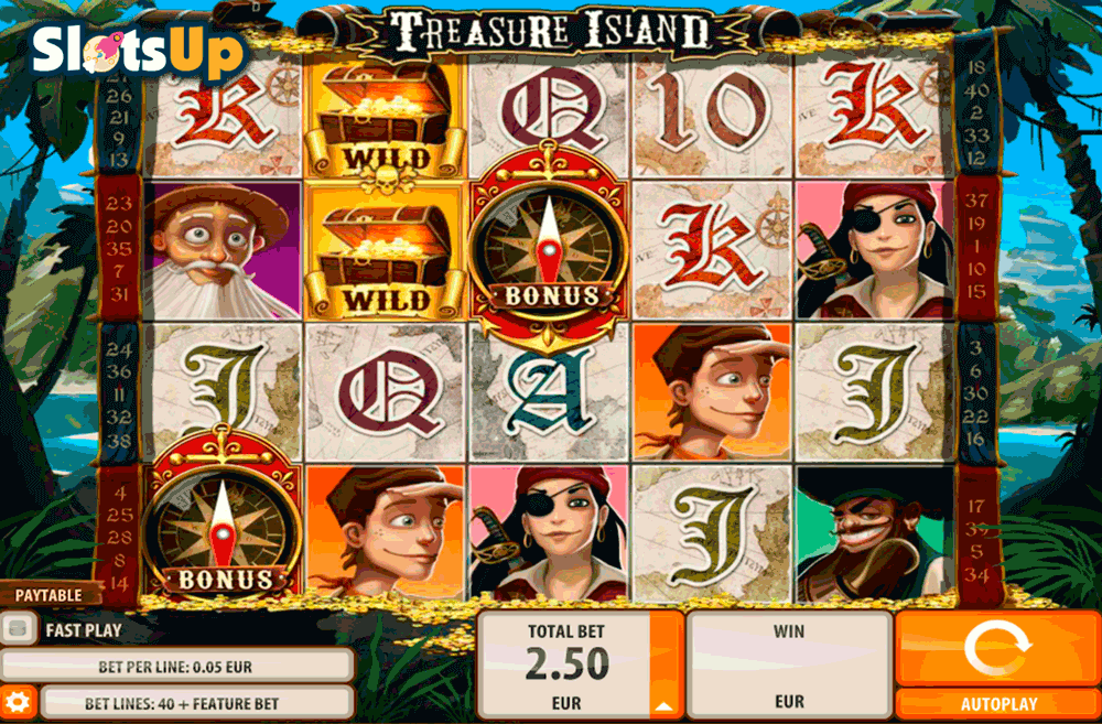 Treasure Island™ Slot Machine Game to Play Free in QuickSpins Online Casinos