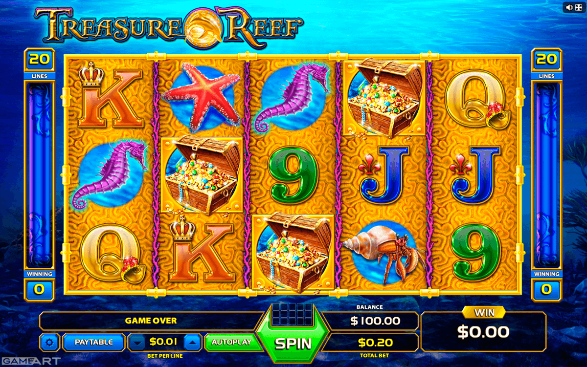 Treasure Chest™ Slot Machine Game to Play Free in iSoftBets Online Casinos