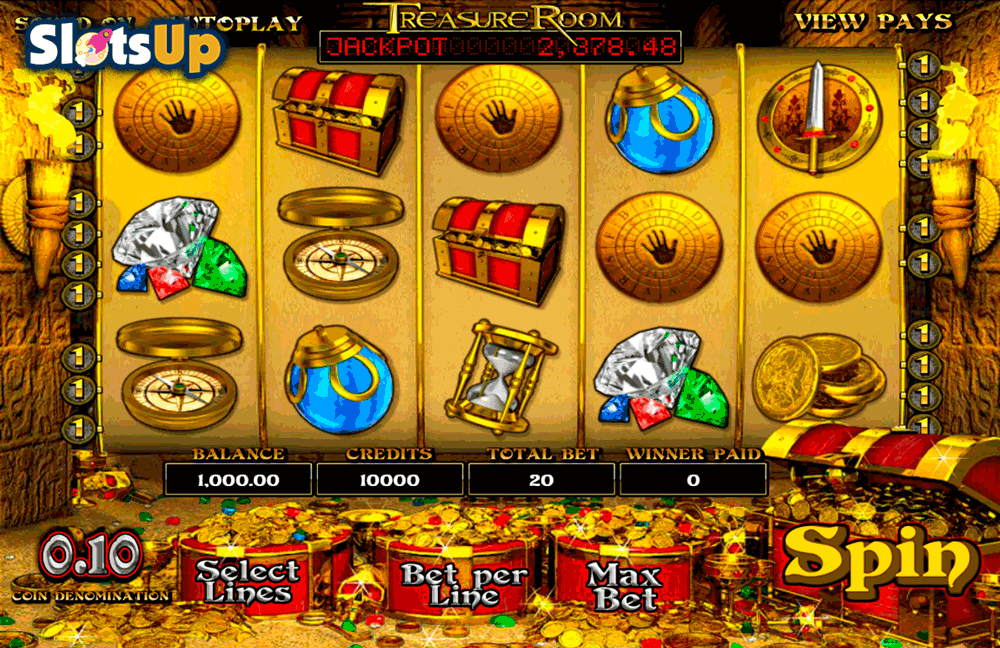 TREASURE ROOM BETSOFT CASINO SLOTS