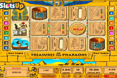 treasures of the pharaohs topgame casino slots