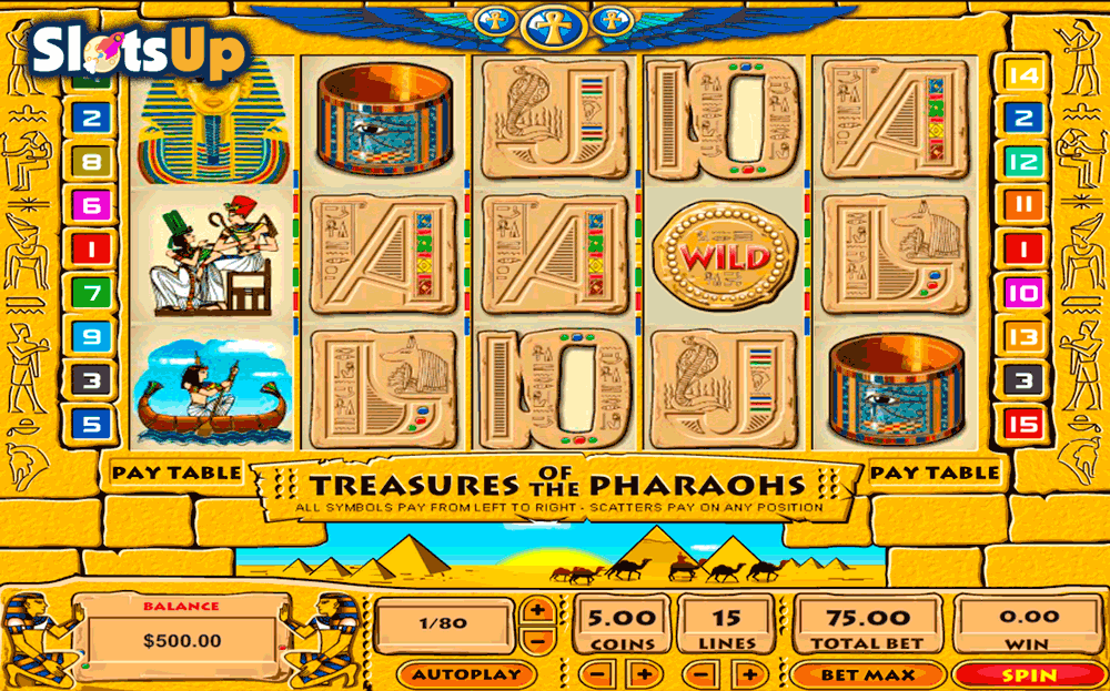 Treasure of the Pharaohs Slot Machine Online ᐈ Pragmatic Play™ Casino Slots