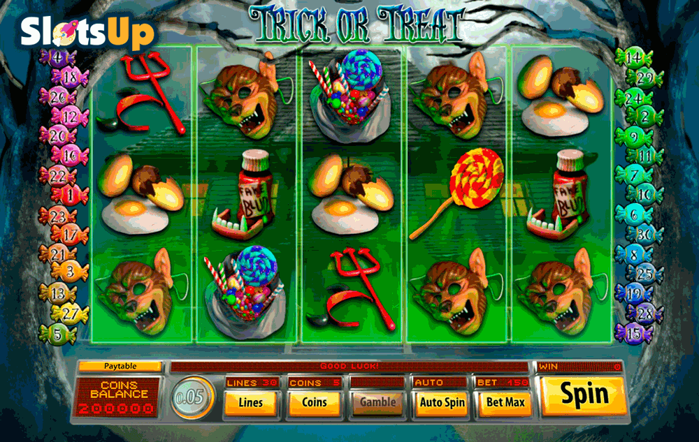 trick or treat saucify casino slots