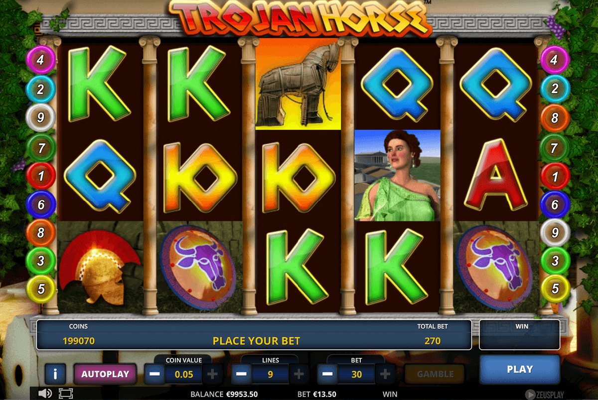 Trojan Horse™ Slot Machine Game to Play Free in Zeus Plays Online Casinos