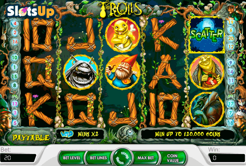 Trolls Slots Free Play & Real Money Casinos