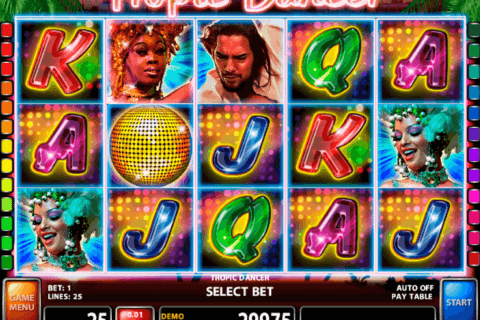 TROPIC DANCER CASINO TECHNOLOGY SLOT MACHINE