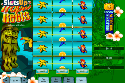 tropic reels playtech casino slots