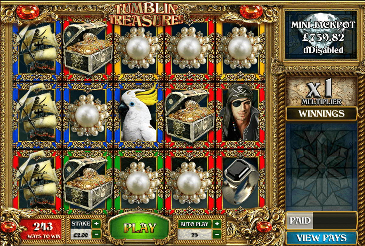 Tumblin Treasures Slot Machine Online ᐈ Big Time Gaming™ Casino Slots