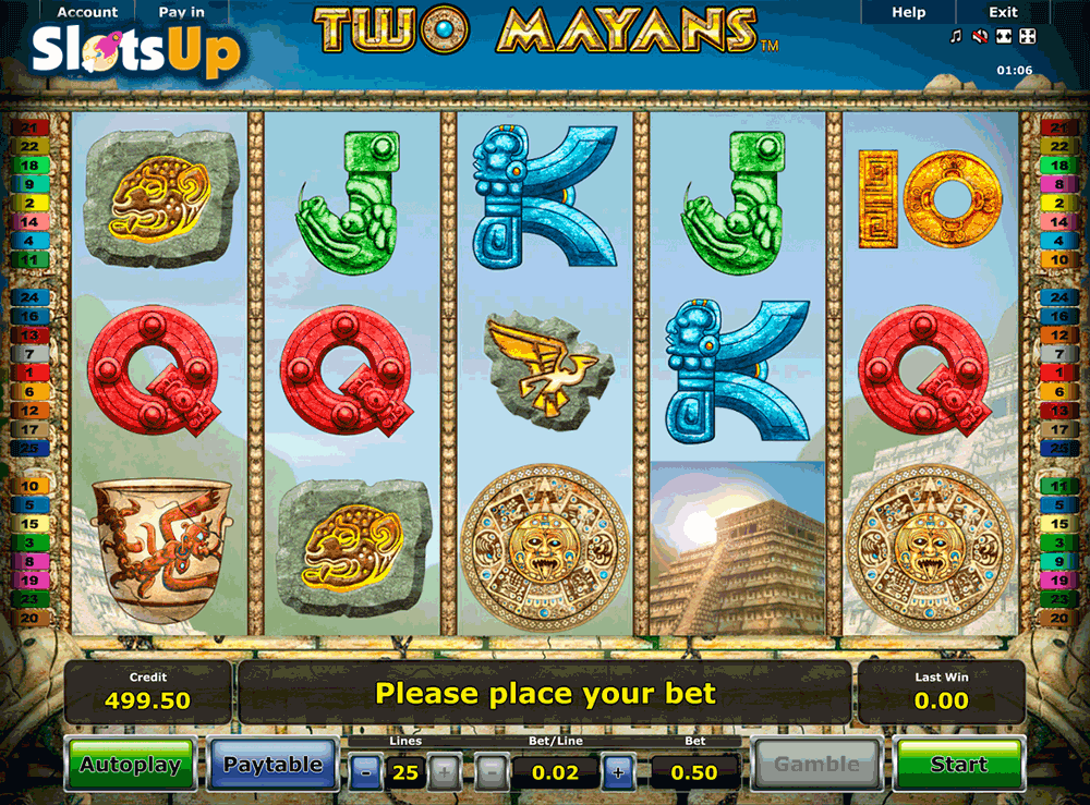 Two Mayans Slot Machine Online ᐈ Novomatic™ Casino Slots