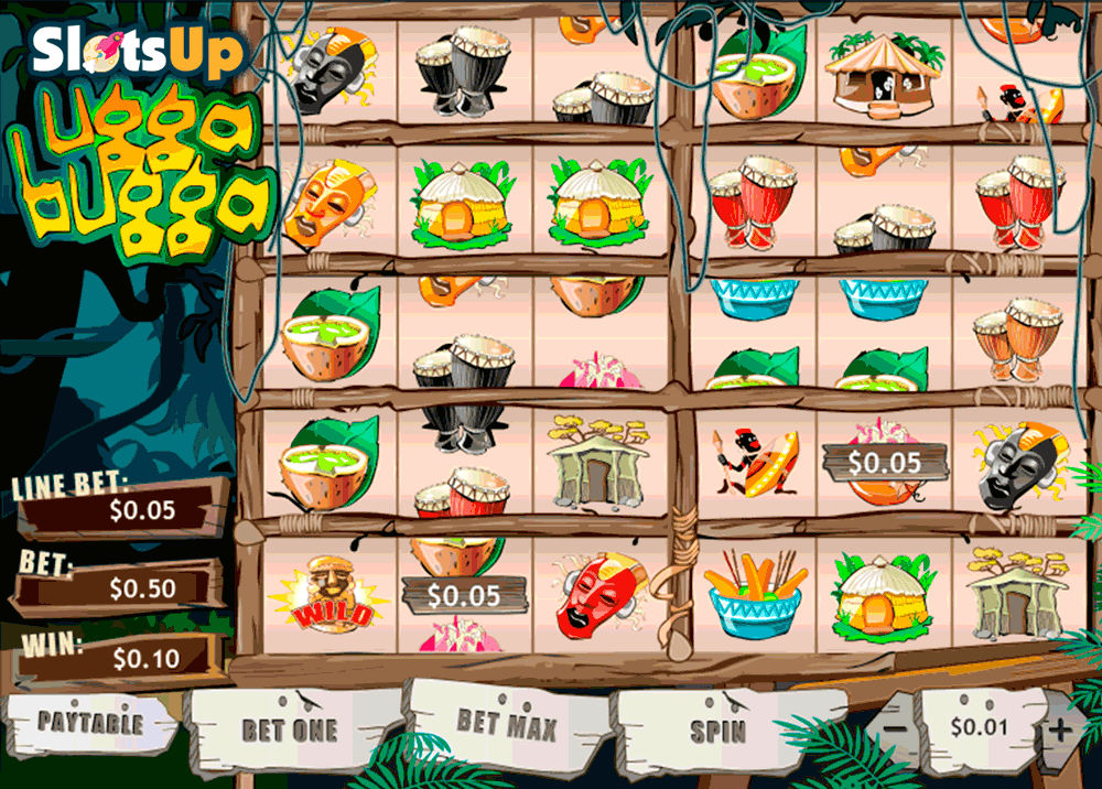 Play the Ugga Bugga Online Slots at Casino.com UK