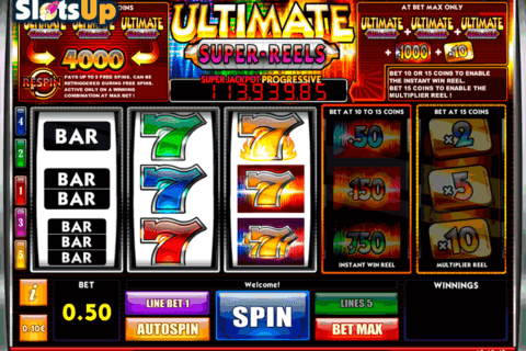 Super Multitimes Progressive Slots - Play for Free Online