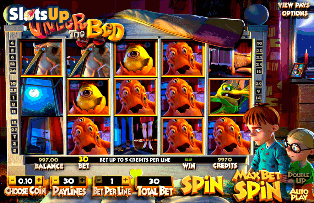 UNDER THE BED BETSOFT CASINO SLOTS
