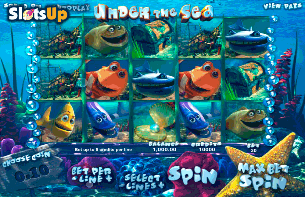 Under The Sea Slot - Play the Online Slot for Free