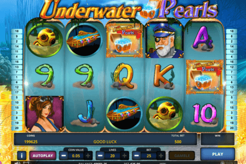 underwater pearls zeus play 480x320