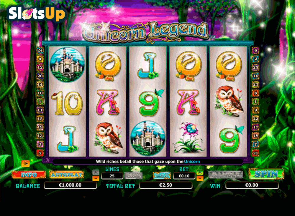 Unicorns Slot Machine - Play Mobilots Casino Games Online