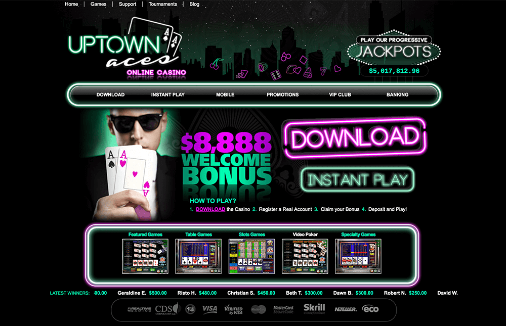 uptown aces casino preview