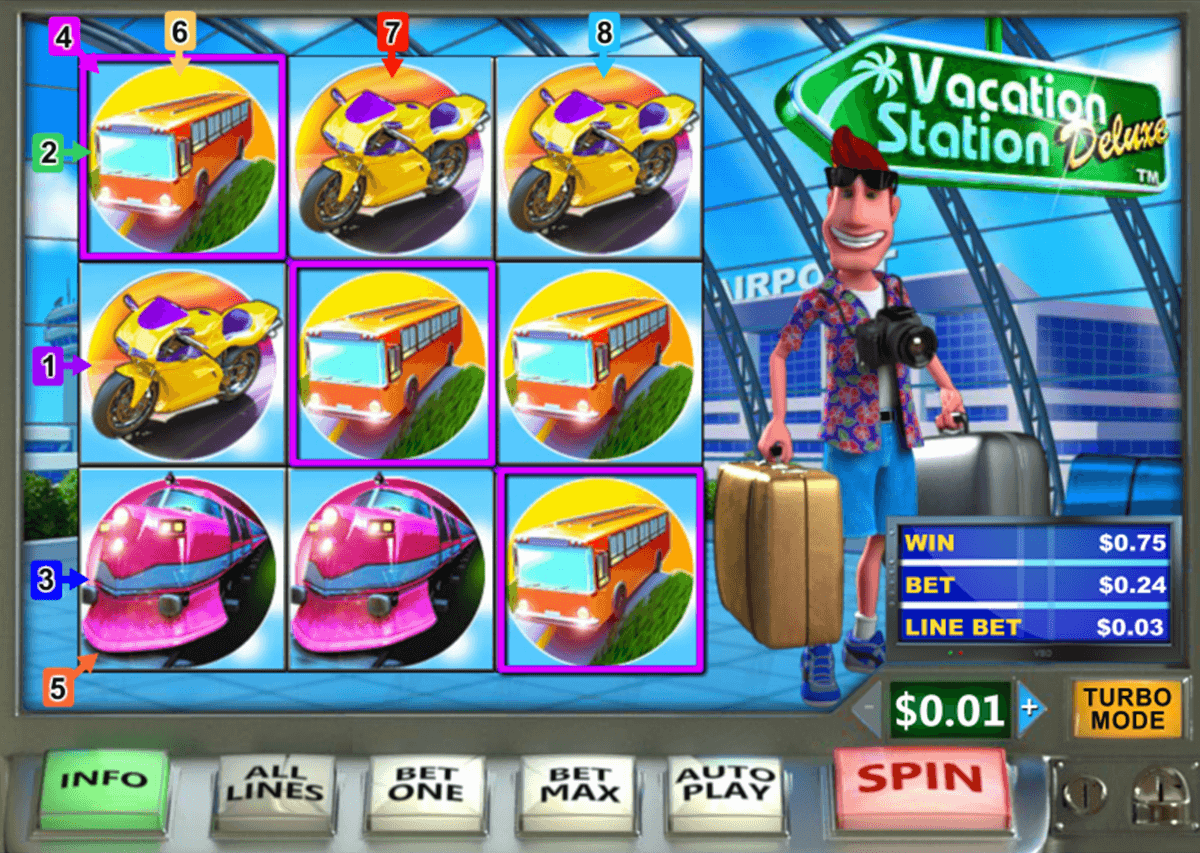 Play Vacation Station Online Slots at Casino.com UK