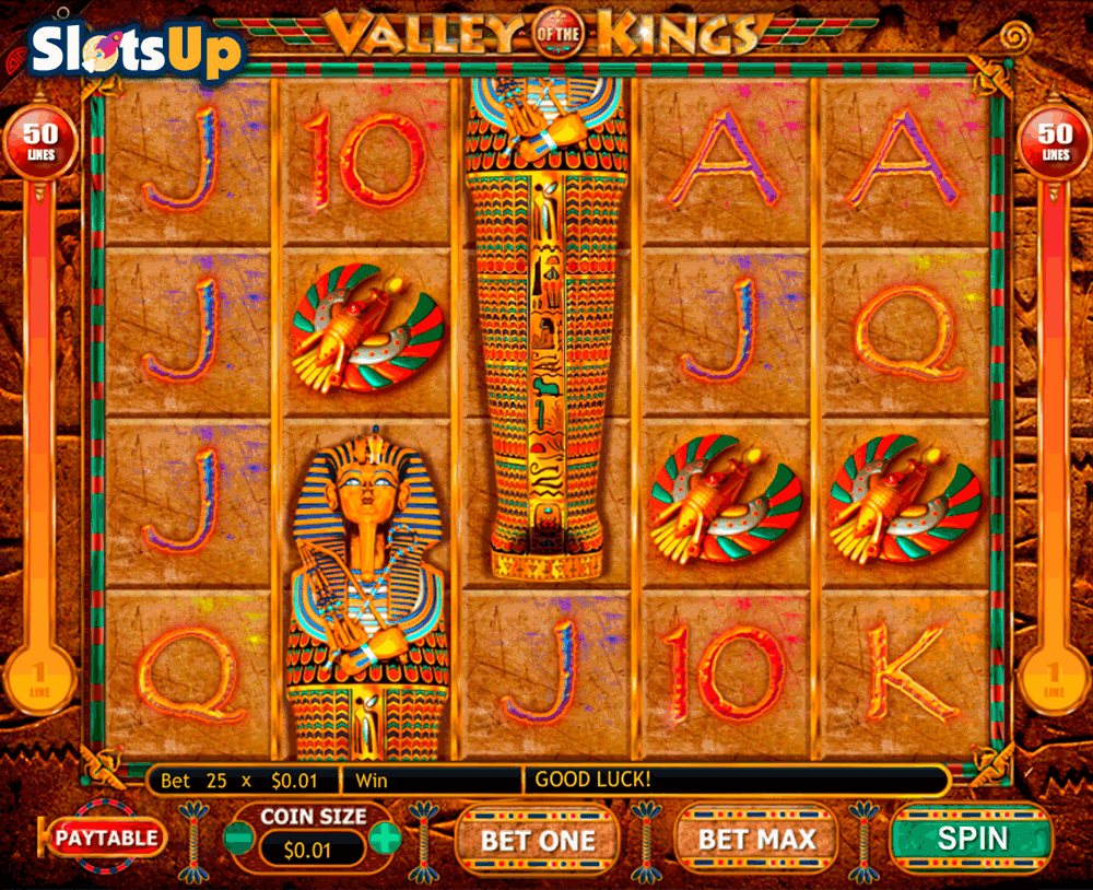 Valley of the Kings Slot Machine Online ᐈ Genesis Gaming™ Casino Slots