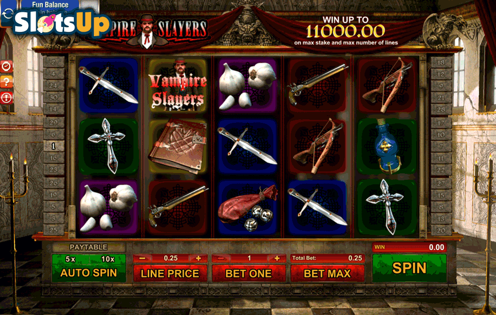 Vampires Slot Machine - Try it Online for Free or Real Money