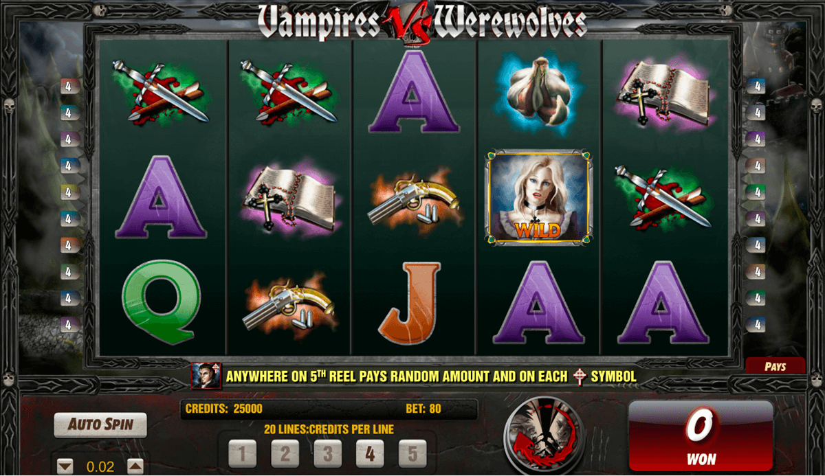 Spiele Vampire VS Werewolves - Video Slots Online